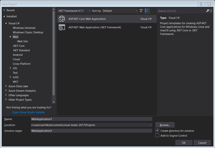 Angular 5 and  NET Core 2 with Visual Studio 2017 - CodeProject