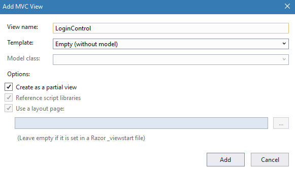 DotNet Core 2.x Razor Pages: Using PartialViews - CodeProject