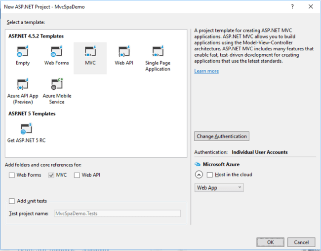 Single Page Application Using ASP NET MVC And jQuery With