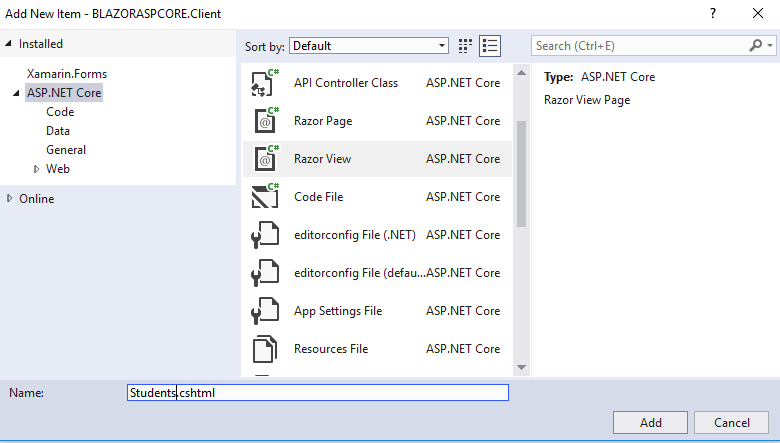 ASP NET Core Blazor Master Detail Grid with Filtering and