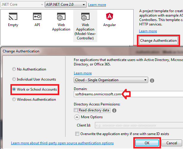 Authentication and Authorization in ASP NET Core 2 0 using