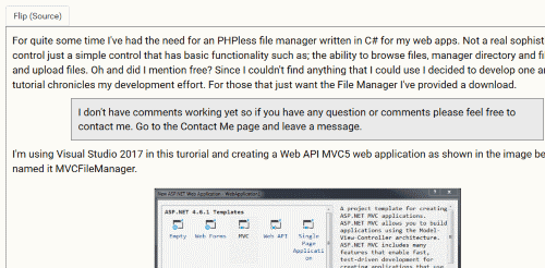 Flip jQuery Plugin for Previewing Web Content - CodeProject