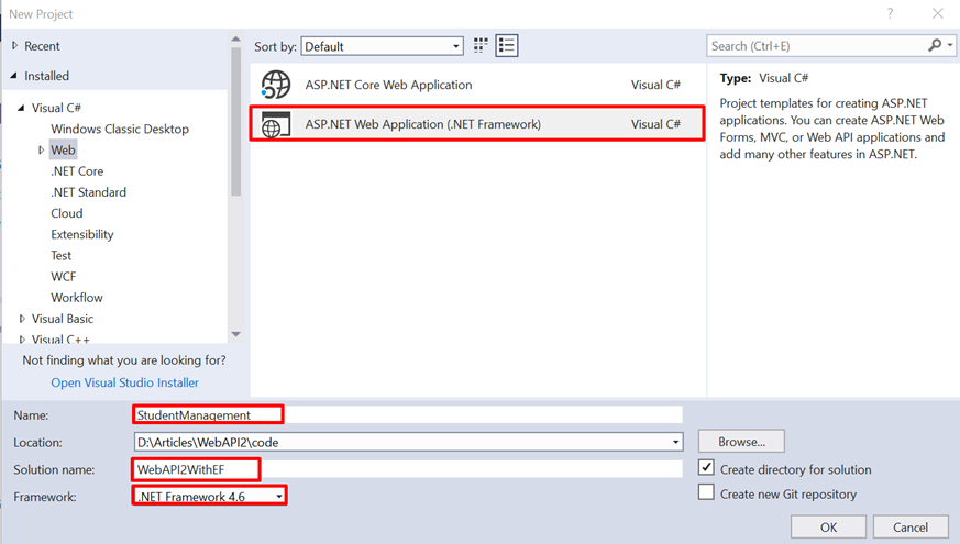 Learning Entity Framework (Day 3): ASP NET Web API 2 with Entity