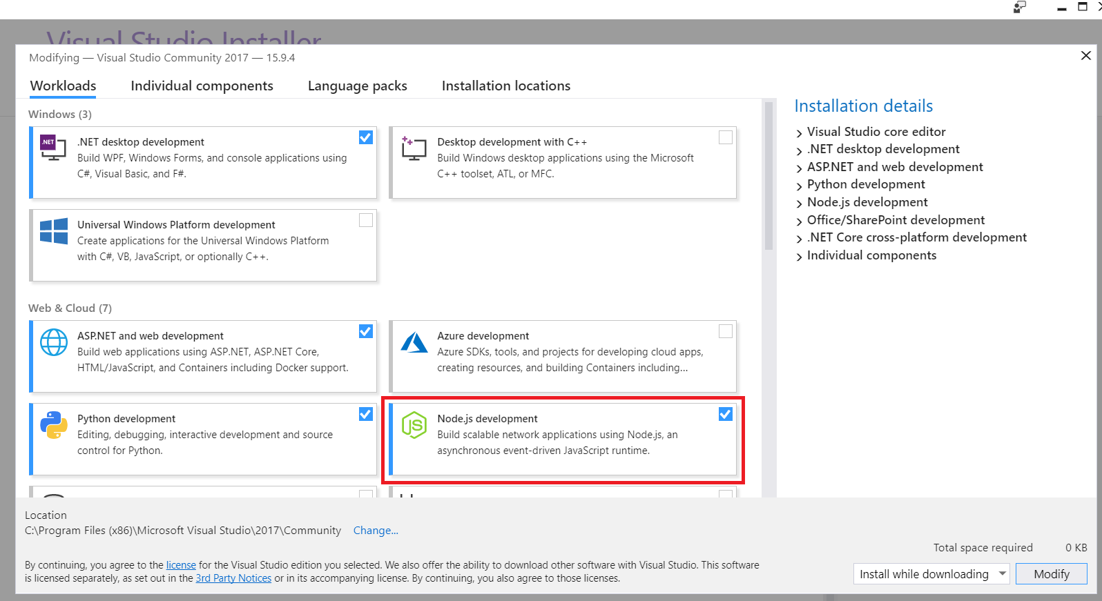 Setup an ExpressJS 4 App using Visual Studio 2017 - CodeProject
