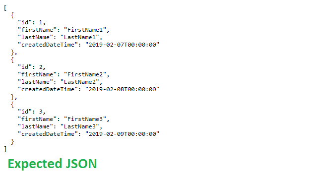 camelCase JSON Response in ASP NET Projects - CodeProject