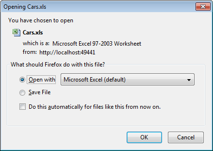 MVC Grid to Excel file download - CodeProject