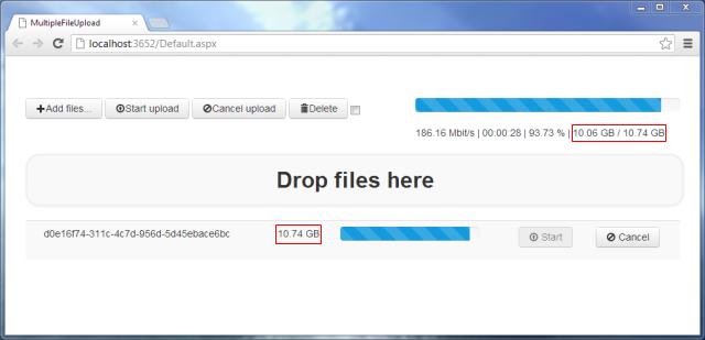 ASP.NET Multiple File Upload With Drag & Drop and Progress Bar ...