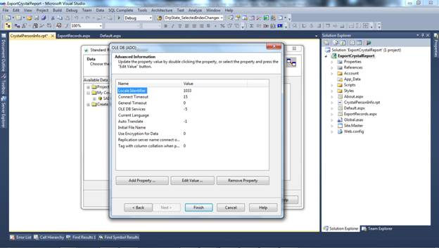 How to Export Crystal Report on Button Click in to PDF, Excel, Word