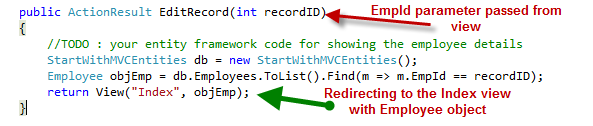 how to start mvc project