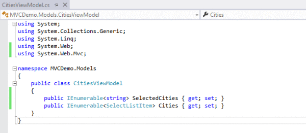 Asp. Net mvc – how to create a listbox? Codeproject.