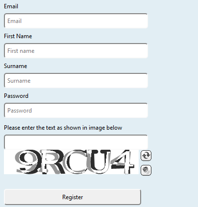 How to Add Captcha to your ASP NET WebForms Project in 5