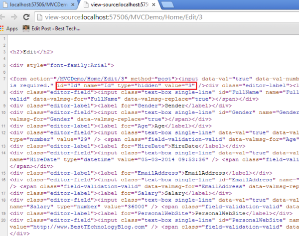 Html attributes mvc disabled dating