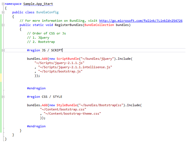 Create An Asp Web Forms Application Using Bootstrap And Web Api