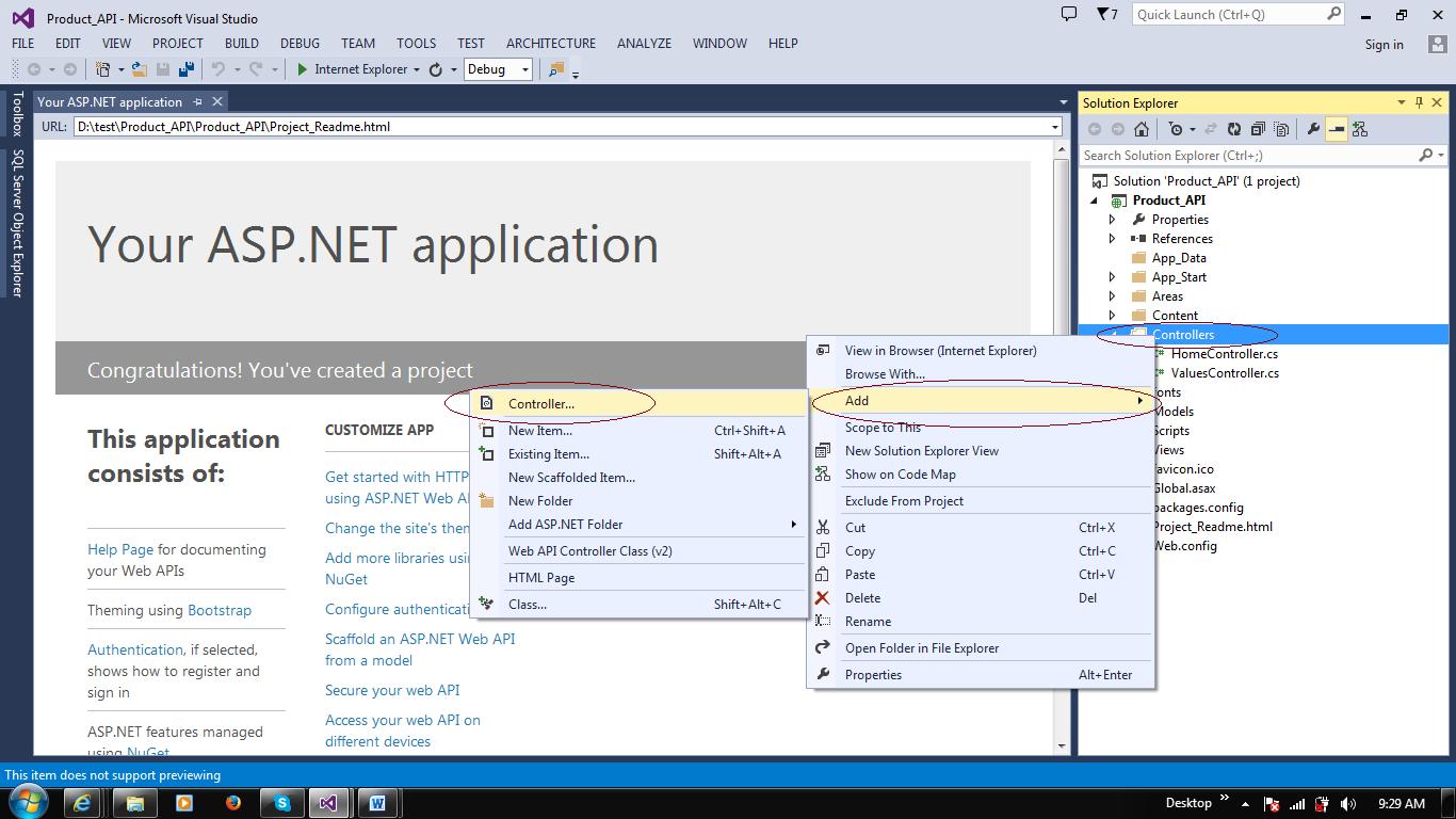 AngularJS With MVC Web API (ASP NET MVC RESTful Service
