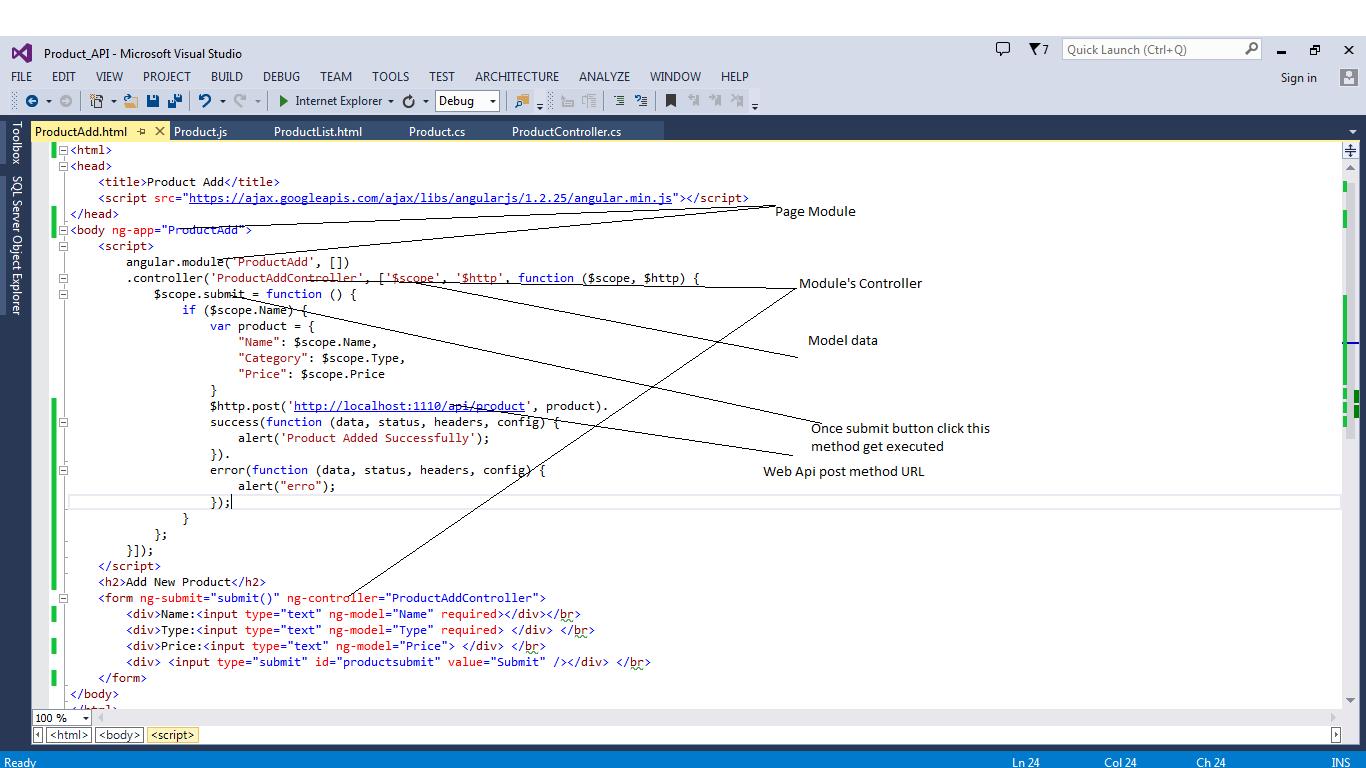 AngularJS With MVC Web API (ASP.NET MVC RESTful Service) - CodeProject