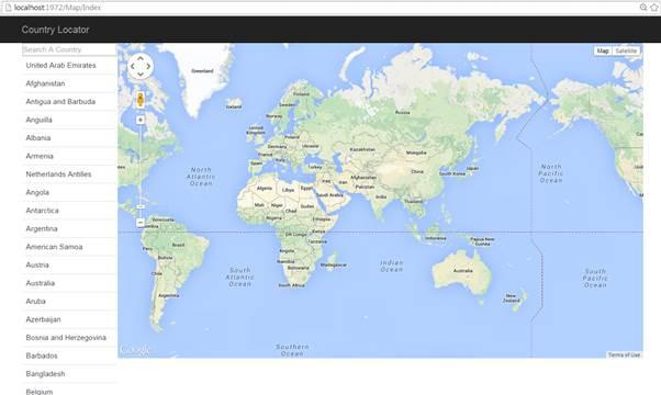 jQuery Based Ajax ASP.NET MVC Google Maps Web App - CodeProject