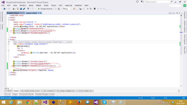 File upload in ASP NET MVC using Dropzone JS and HTML5 - CodeProject