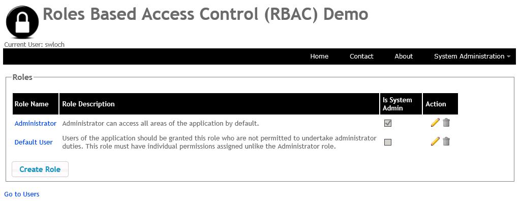 Custom Roles Based Access Control (RBAC) in ASP NET MVC
