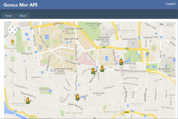 Google Map with JSON - CodeProject