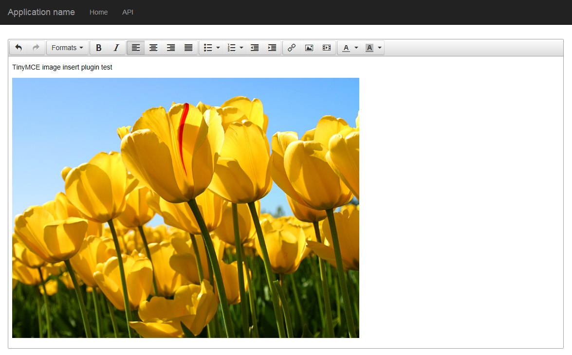 TinyMCE image insert plugin with ASP NET WebApi2 - CodeProject