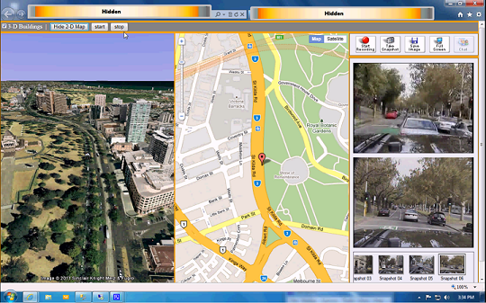 animating google earth  3d   u0026 map  2d  for live gps via
