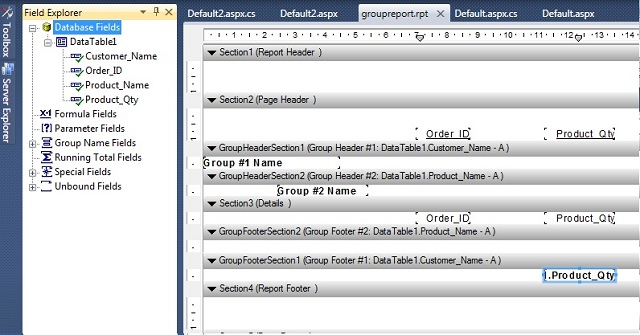 Generate a Report using Crystal Reports in Visual Studio 2010 ...