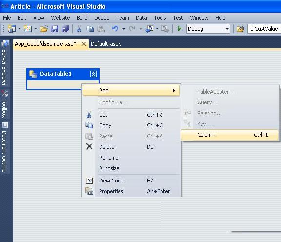 Generate a Report using Crystal Reports in Visual Studio