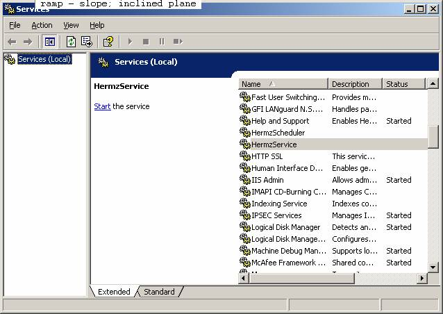 how to create sql server service