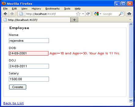 Validating password in asp net