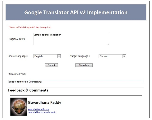 google translate api Software - Free Download google ...