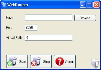 run asp.net application without iis