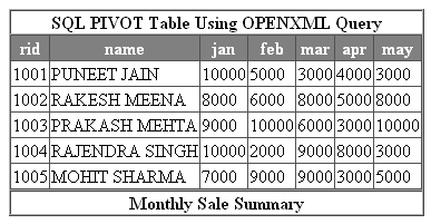 Superior Introduction PIVOT Table U0026 Open XML Query