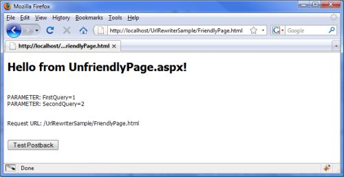 URL Rewriting using ASP NET for SEO - CodeProject