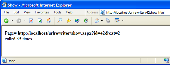 URL Rewriting with ASP NET - CodeProject