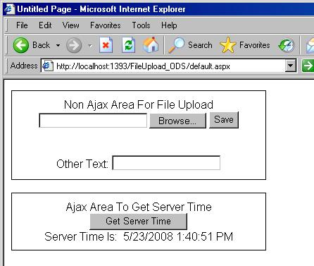 FileUpload with Master Page, Ajax Update Panel, FormView and