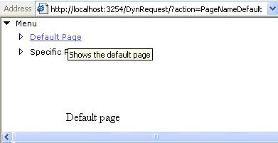 Sample Image of Default Page