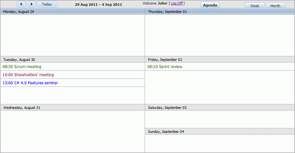 How To Build A Room Booking Calendar With Dhtmlxscheduler Codeproject