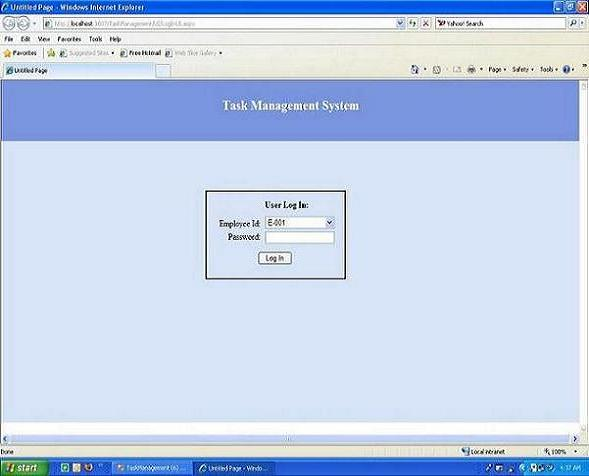 Task Management System Codeproject