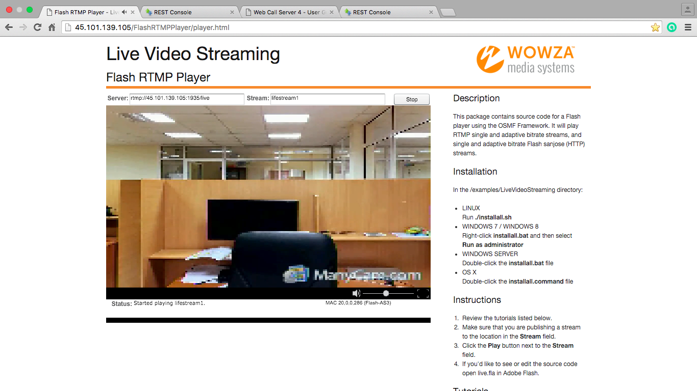 Broadcasting from zoom.us to Adobe Media Server or Wowza Streaming Engine