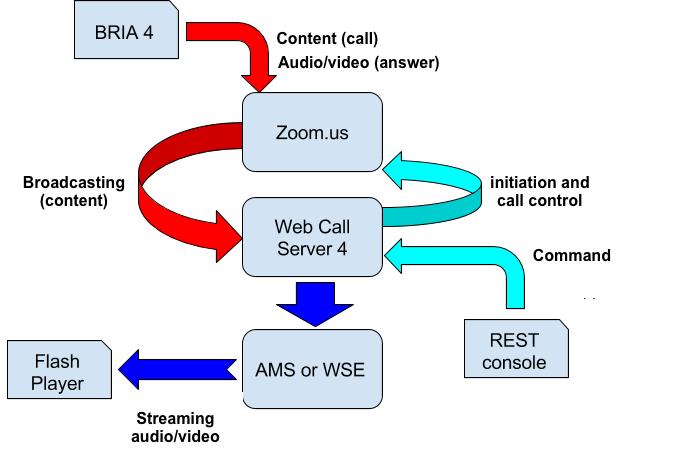 Testing diagram for zoom.us
