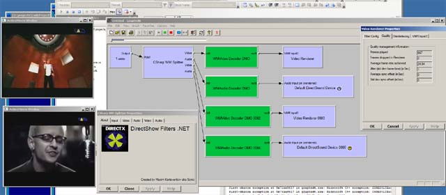 Writing DirectShow Demultiplexors in C#  Part 1 - Windows