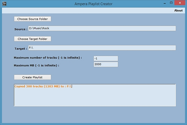 MP3 Playlist creator for Opel Ampera and Chevy Volt