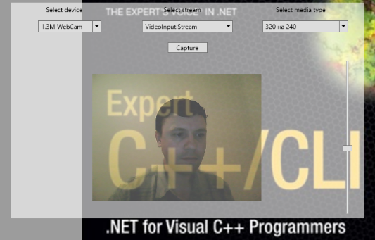 Capturing Live-video from Web-camera on Windows 7 and