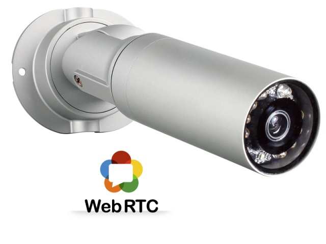 Broadcasting of a Video Stream from an IP-camera Using WebRTC