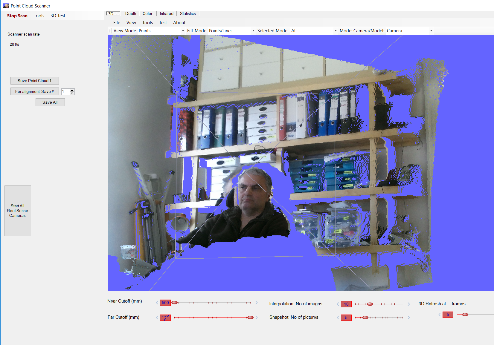 Kinect v2 Point Cloud Scanner and Viewer - CodeProject