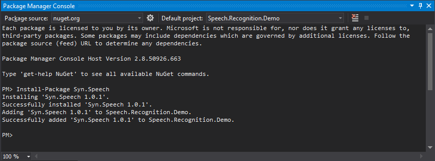 Speech Recognition in Mono and  NET C# - CodeProject