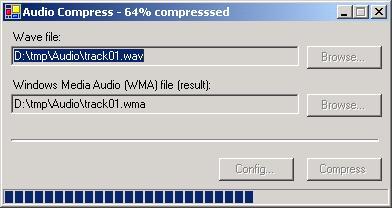 Windows Media Audio Compressor