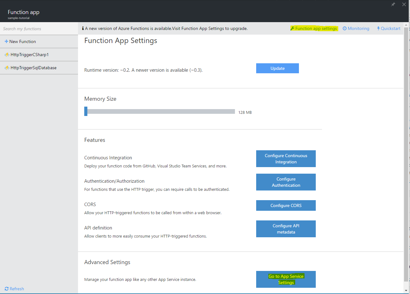 Azure Functions Tutorial – SQL Database - CodeProject