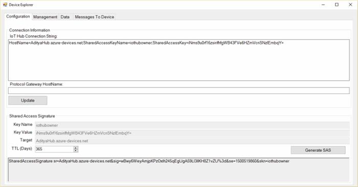 Azure IOT Hub REST API - CodeProject