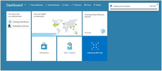 Deploy Node js in Microsoft Azure - CodeProject